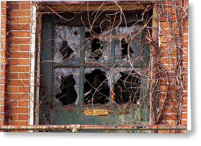 Greeting Card featuring the photograph Broken Promises  by Lynda Lehmann