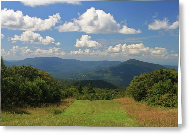 Bromley Mountain Vermont Appalachian Trail Greeting Card by John Burk