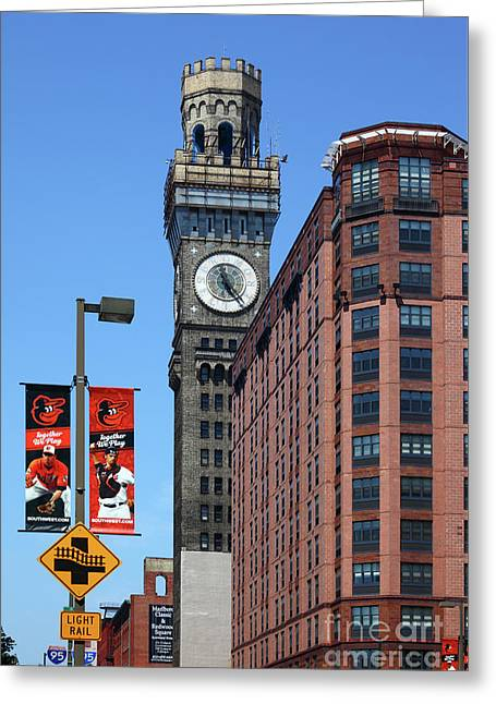 Bromo seltzer tower greeting cards page 3 of 4 fine art america bromo seltzer tower baltimore greeting card m4hsunfo