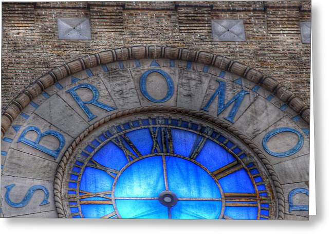Bromo Seltzer Tower Clock Face #3 Greeting Card