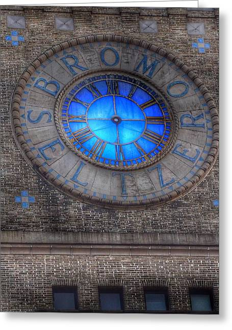 Bromo Seltzer Tower Clock Face #5 Greeting Card