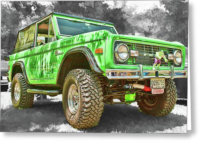Bronco 1 Greeting Card