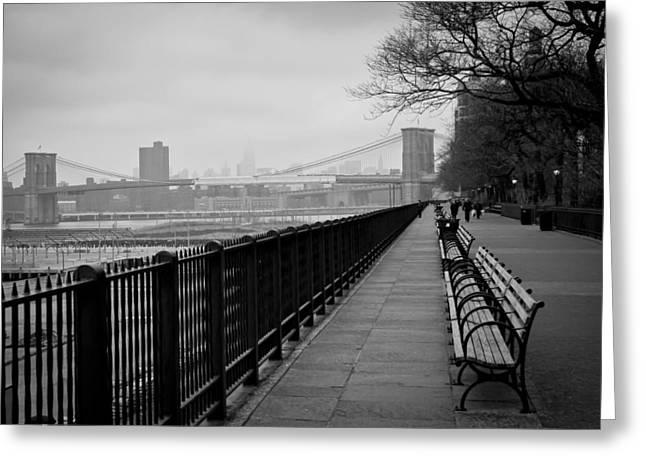 Brooklyn Heights Promenade Greeting Card