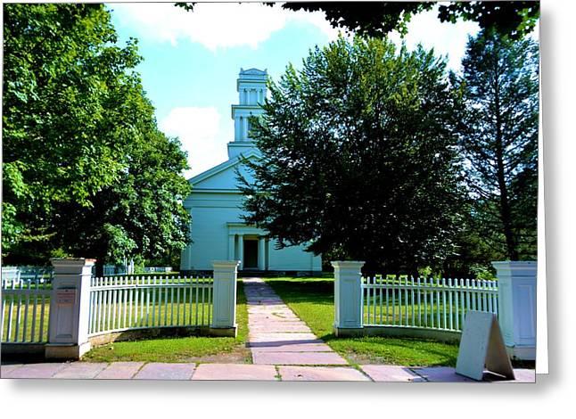 Brooks Grove Methodist Church Greeting Card by Richard Jenkins