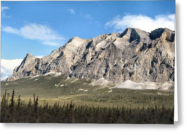Brooks Range Mountain Greeting Card by Adam Owen