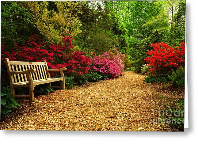 Brookside Gardens Greeting Card