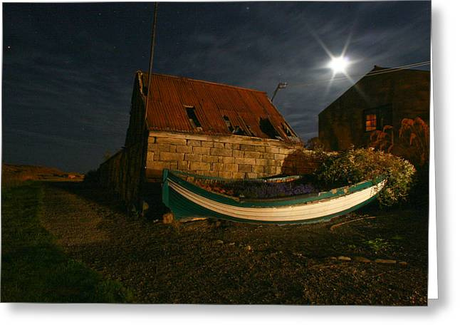 Brora Boat House Greeting Card