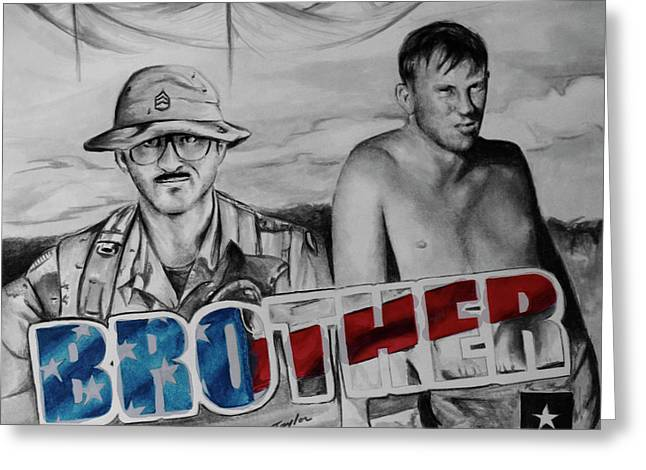 Brother Greeting Card by Laura Taylor