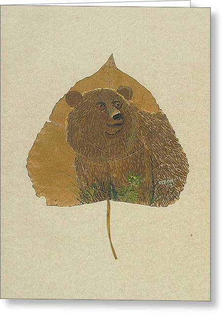 Brow Bear #2 Greeting Card