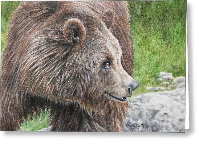 Brown Bear Greeting Card
