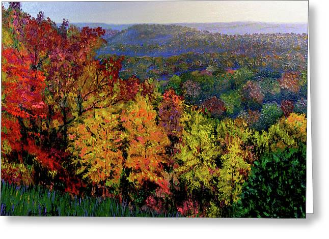 Brown County Autumn Greeting Card