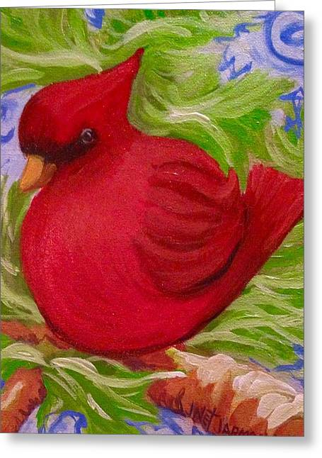 Brrr Bird Greeting Card