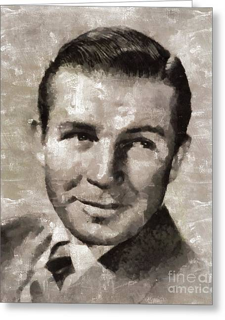 Bruce Cabot, Actor Greeting Card