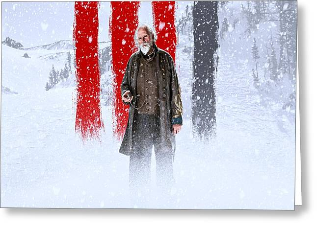 Bruce Dern The Hateful Eight Greeting Card by Movie Poster Prints