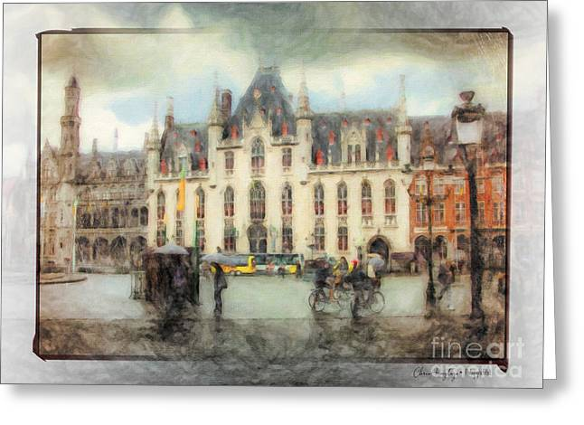 Bruges, Belgium Greeting Card