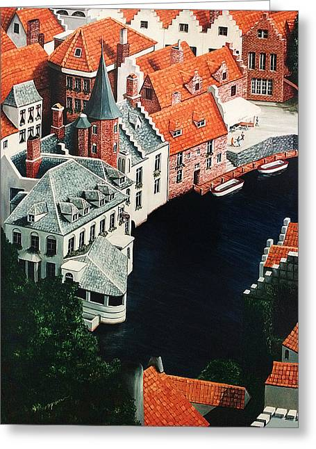 Brudges, Belgium Greeting Card