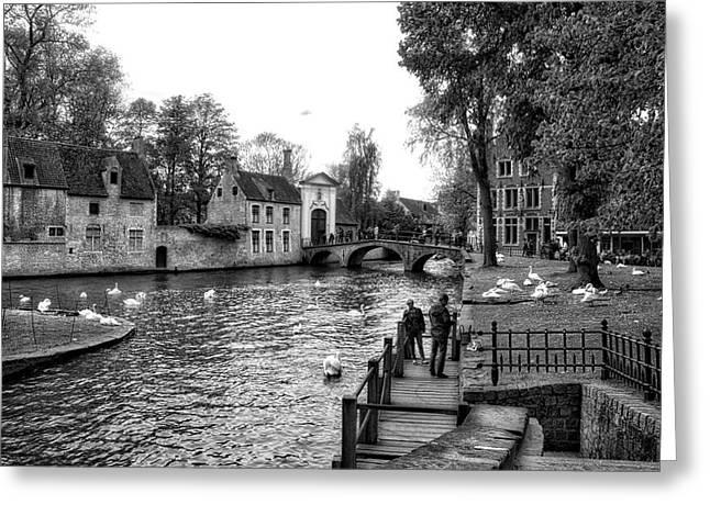 Bruges Bw3 Greeting Card