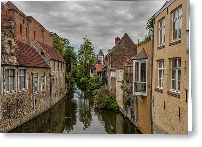 Bruges Charm Greeting Card