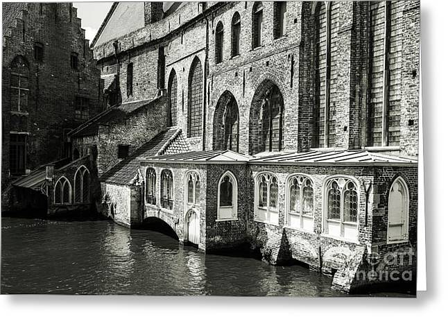 Bruges Medieval Architecture Greeting Card