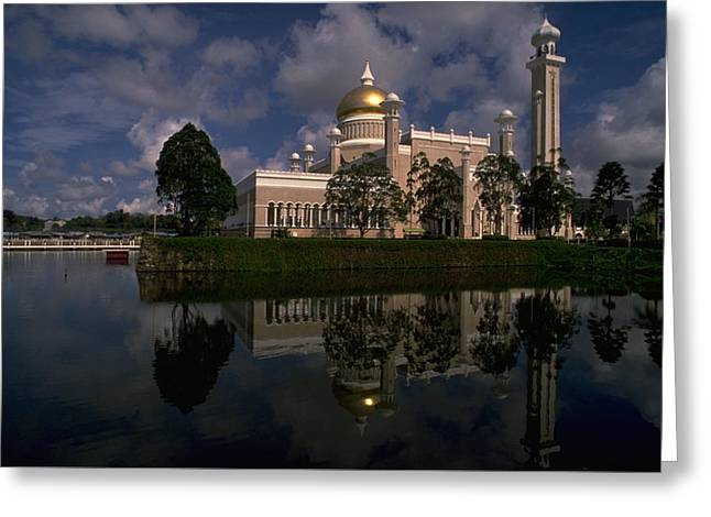 Brunei Mosque Greeting Card