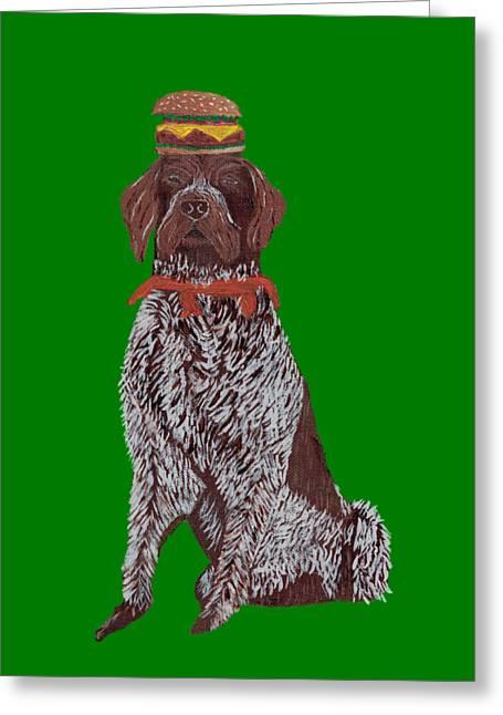 Bruno - Hamburger Greeting Card