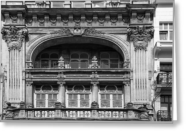 Bruxelles Greeting Cards - Brussels Architecture Greeting Card by Nomad Art And  Design