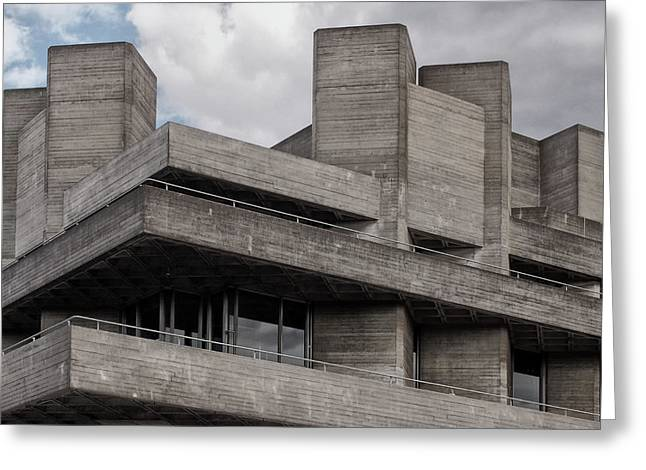 Brutalist Corner Greeting Card