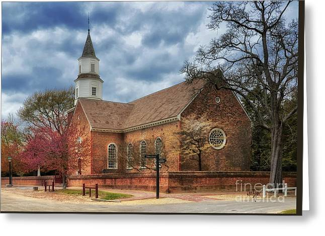 Bruton Parish Church Greeting Card