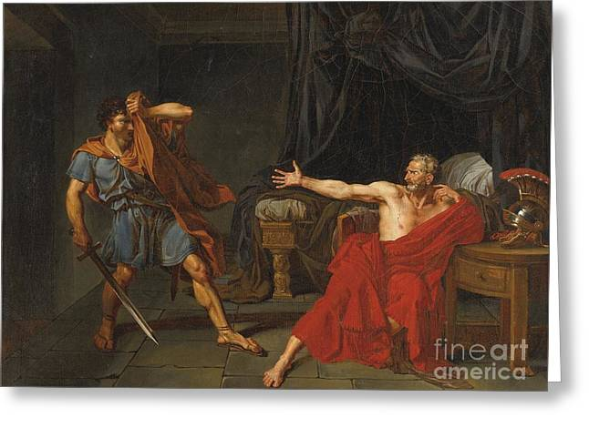 Brutus Greeting Card