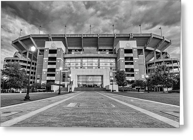 Bryant - Denny Stadium -- Walk Of Champions Greeting Card by Stephen Stookey