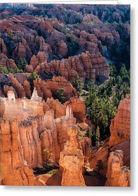 Bryce Canyon Hoodoos Greeting Card by Joseph Smith