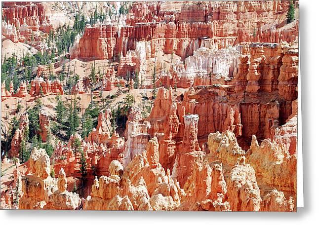 Bryce Canyon Hoodoos Greeting Card by Nancy Landry