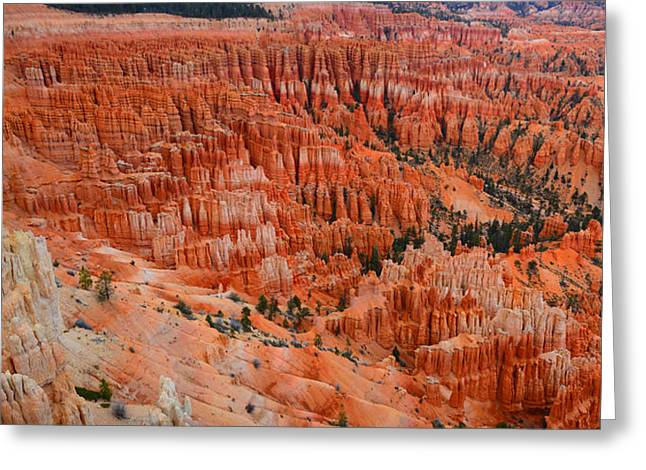 Bryce Canyon Megapixels Greeting Card