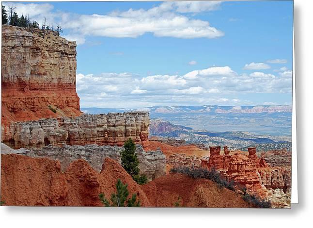 Bryce Canyon Greeting Card by Nancy Landry