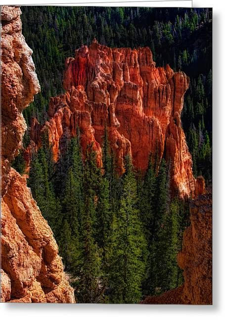 Bryce Canyon Red Rock Greeting Card
