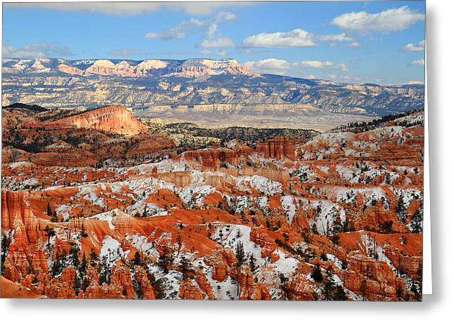 Bryce Canyon Sinking Ship Greeting Card by Pierre Leclerc Photography