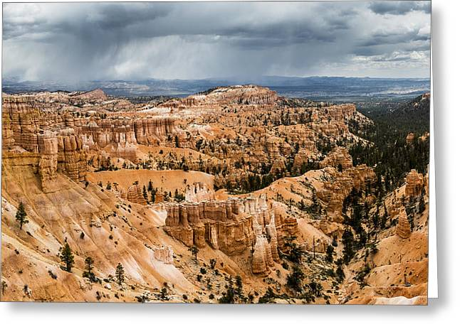Bryce Canyon Storm Greeting Card