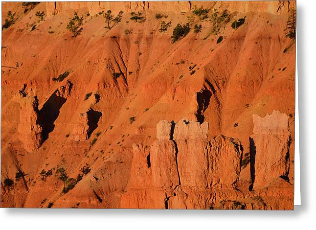 Greeting Card featuring the photograph Bryce Canyon Sunrise 2016b by Bruce Gourley