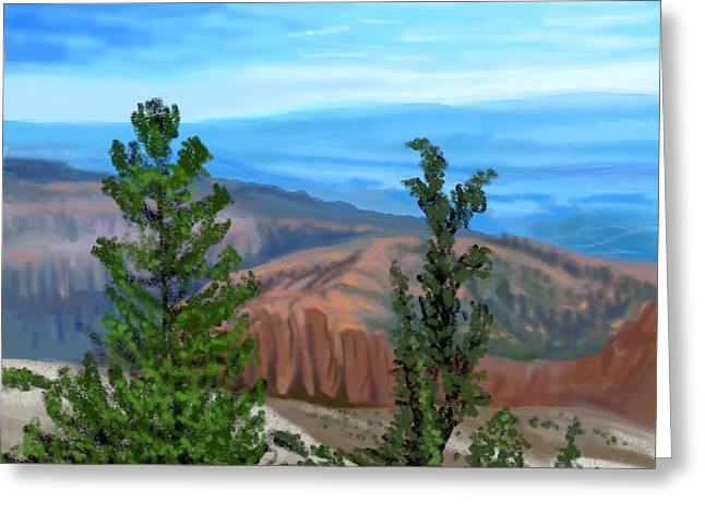 Bryce Canyon Greeting Card by Tanya Provines