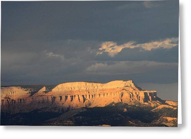 Bryce Canyon Thunderstorm  Greeting Card