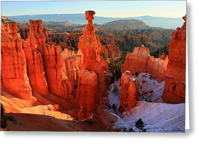 Bryce Canyon's Thor's Hammer Greeting Card by Pierre Leclerc Photography