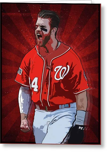 Bryce Harper Greeting Card