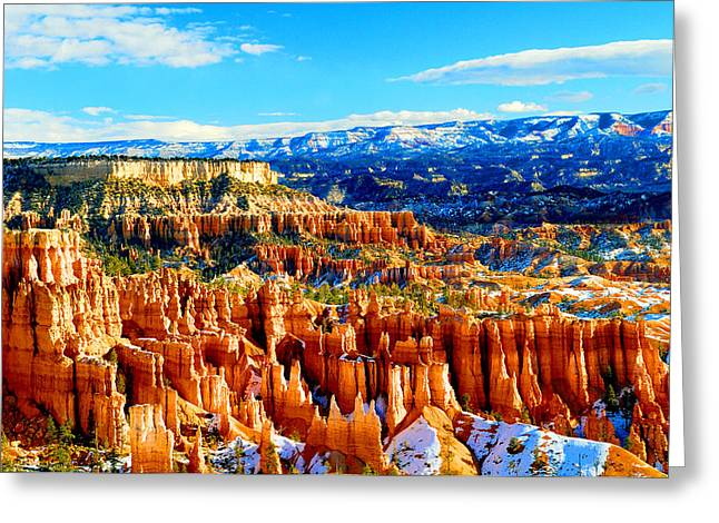 Bryce Overlook Greeting Card