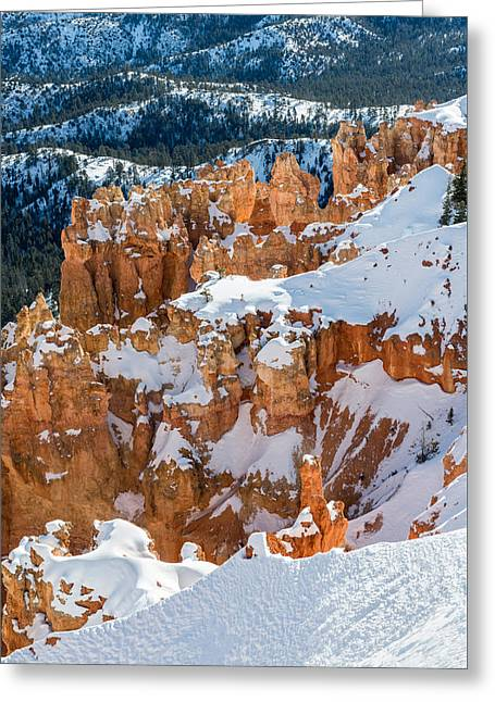 Bryce Winter Greeting Card by Joseph Smith