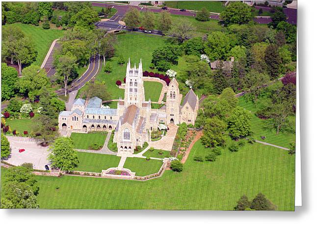 Bryn Athyn Cathedral 900 Cathedral Road Bryn Athyn Pa 19009 Greeting Card by Duncan Pearson