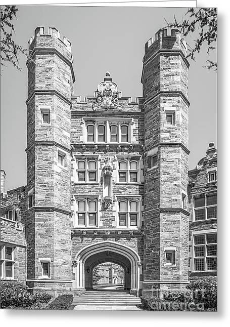 Bryn Mawr College Rockefeller Hall Greeting Card by University Icons
