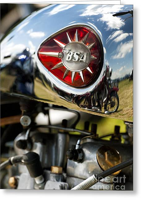 Bsa Royal Star  Greeting Card by Tim Gainey