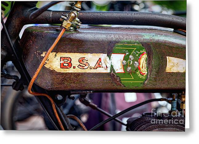 BSA Greeting Card by Tim Gainey