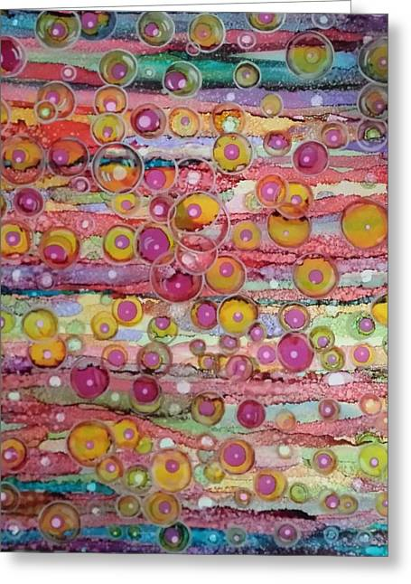 Bubble World Greeting Card