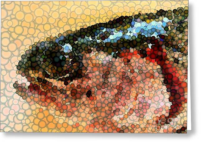 Greeting Card featuring the photograph Bubbles by Carol Grimes